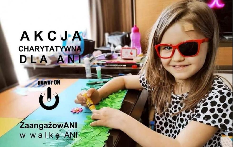 Zbiórka charytatywna dla 6 letniej dziewczynki z Zamościa